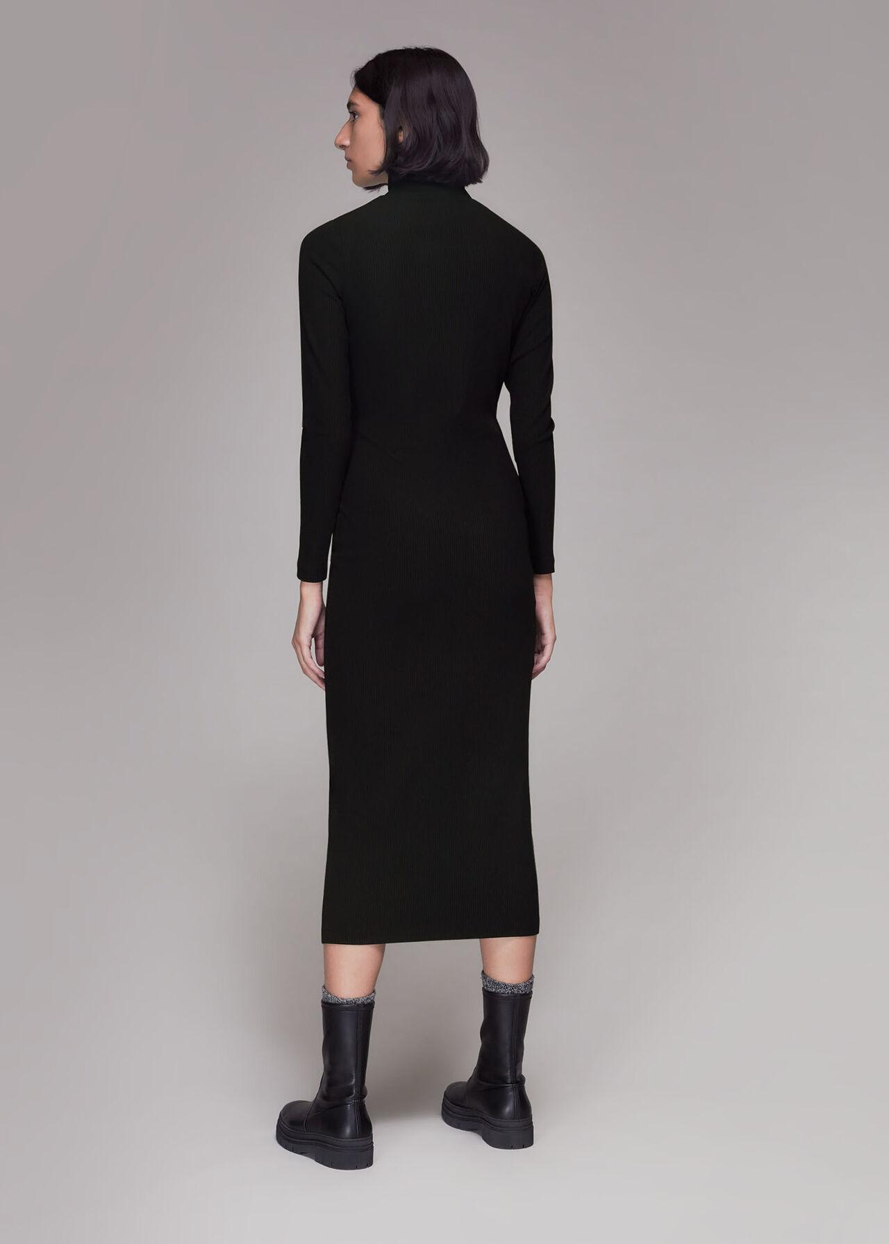 Rib Polo Jersey Dress
