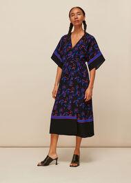 Dee Floral Print Wrap Dress