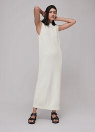 Round Neck Knitted Midi Dress