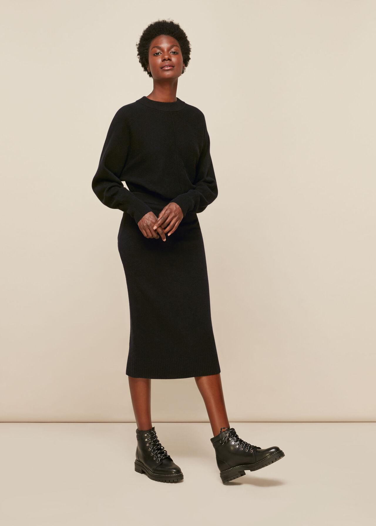 Knitted Merino Wool Tube Skirt