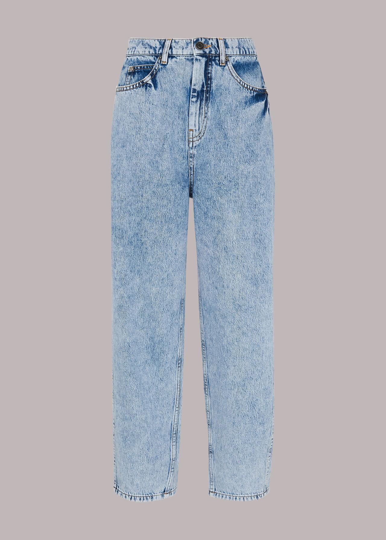 Authentic Acid Barrel Leg Jean