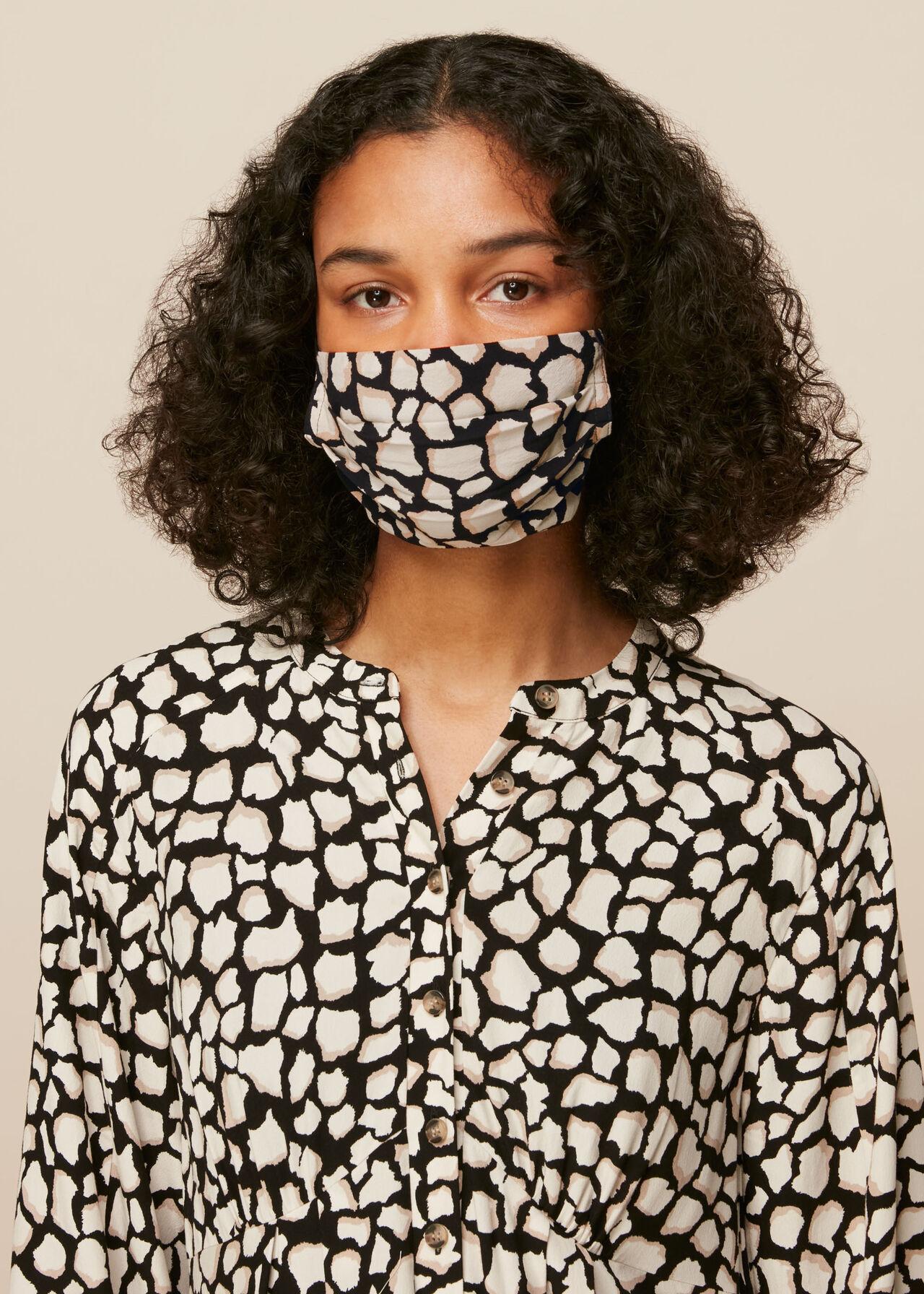 Giraffe Print Face Covering