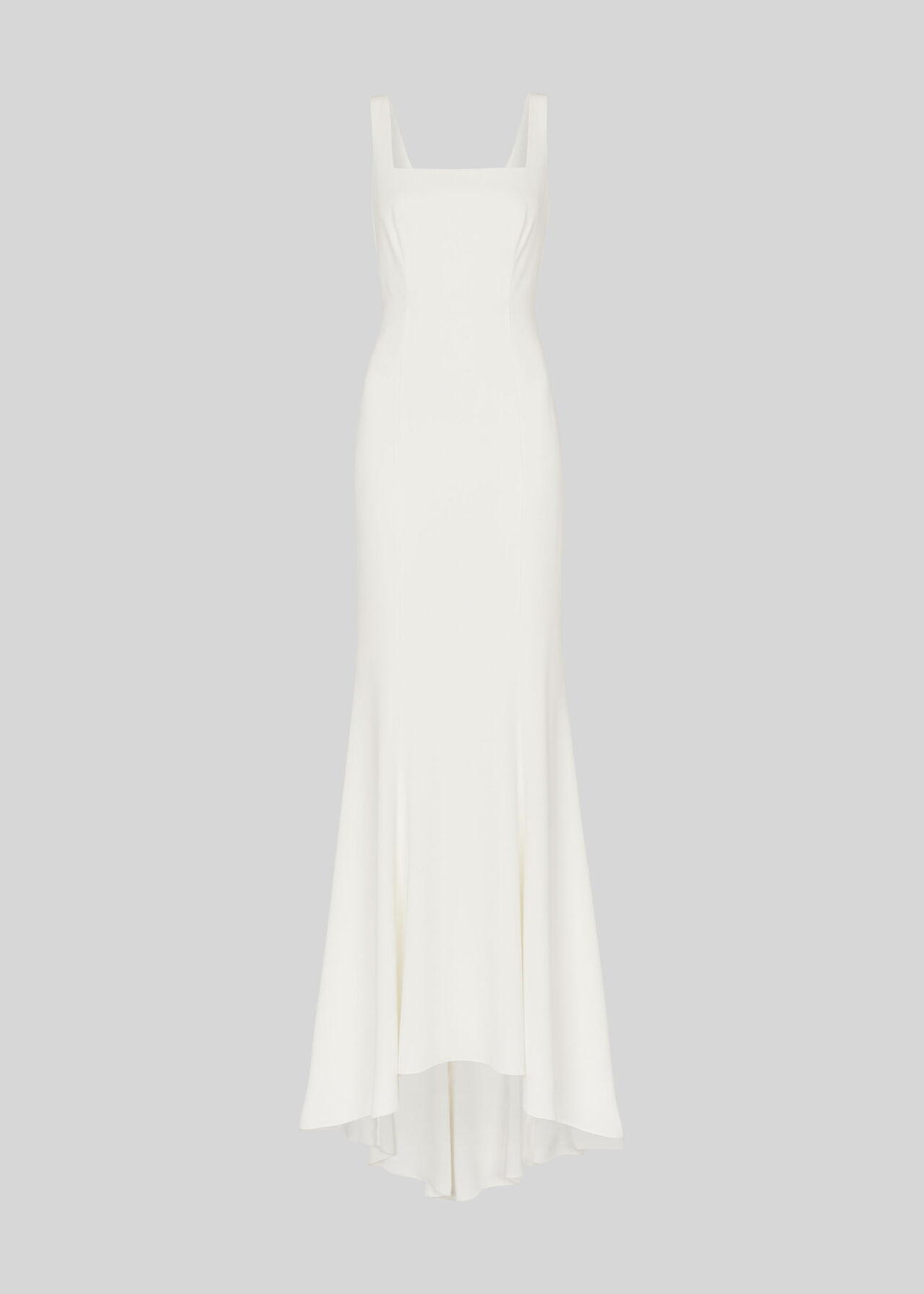 Mia Square Neck Wedding Dress Ivory