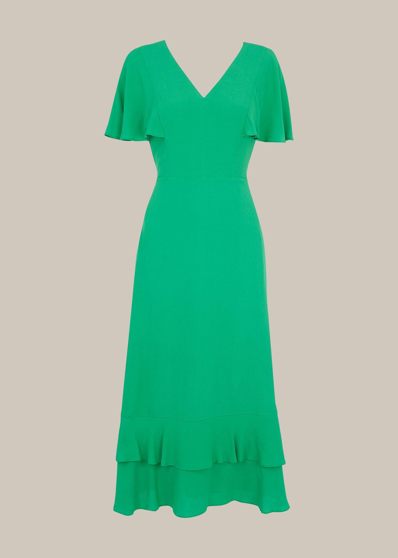 Cathy Frill Hem Dress