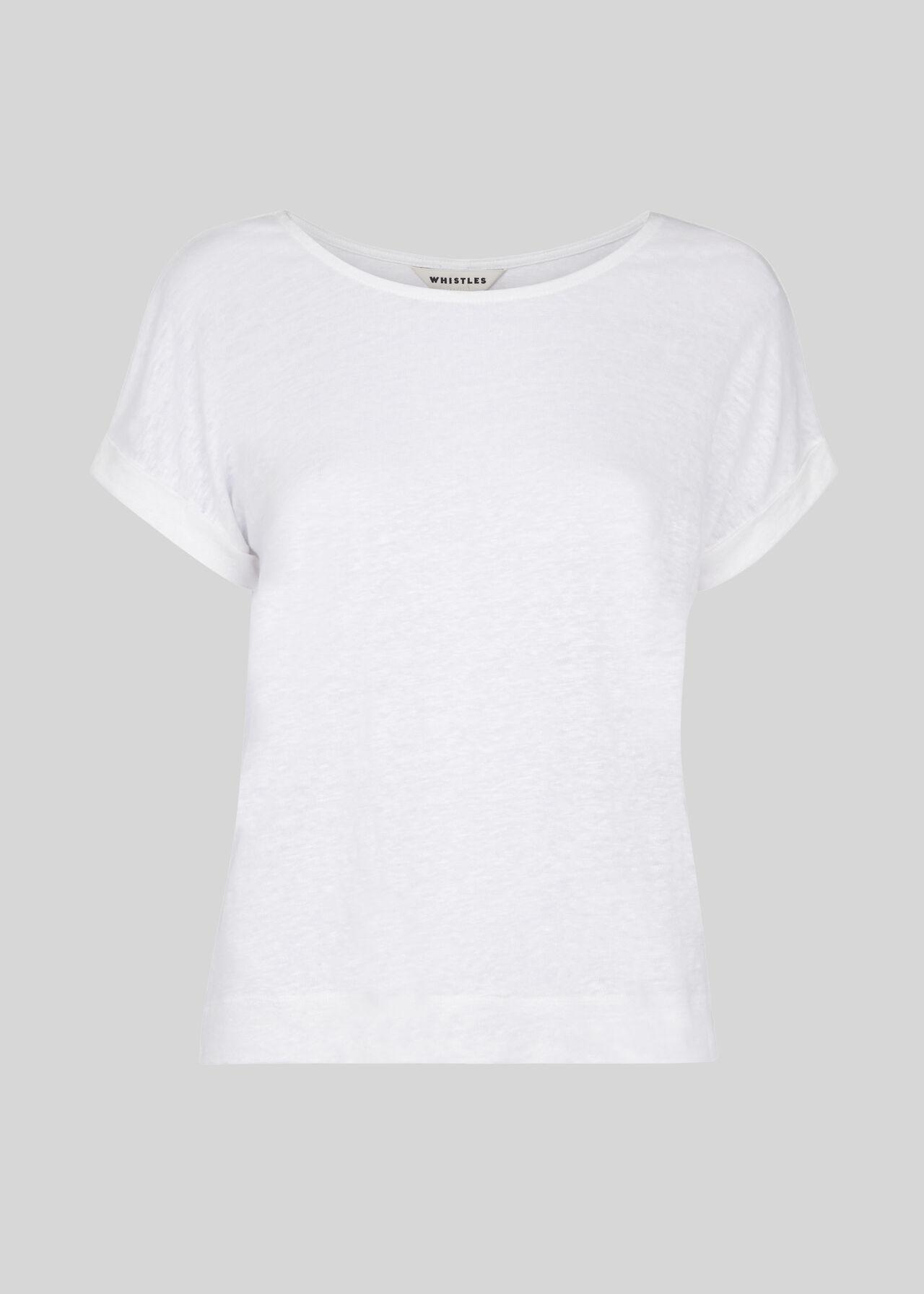 Relaxed Linen Tshirt