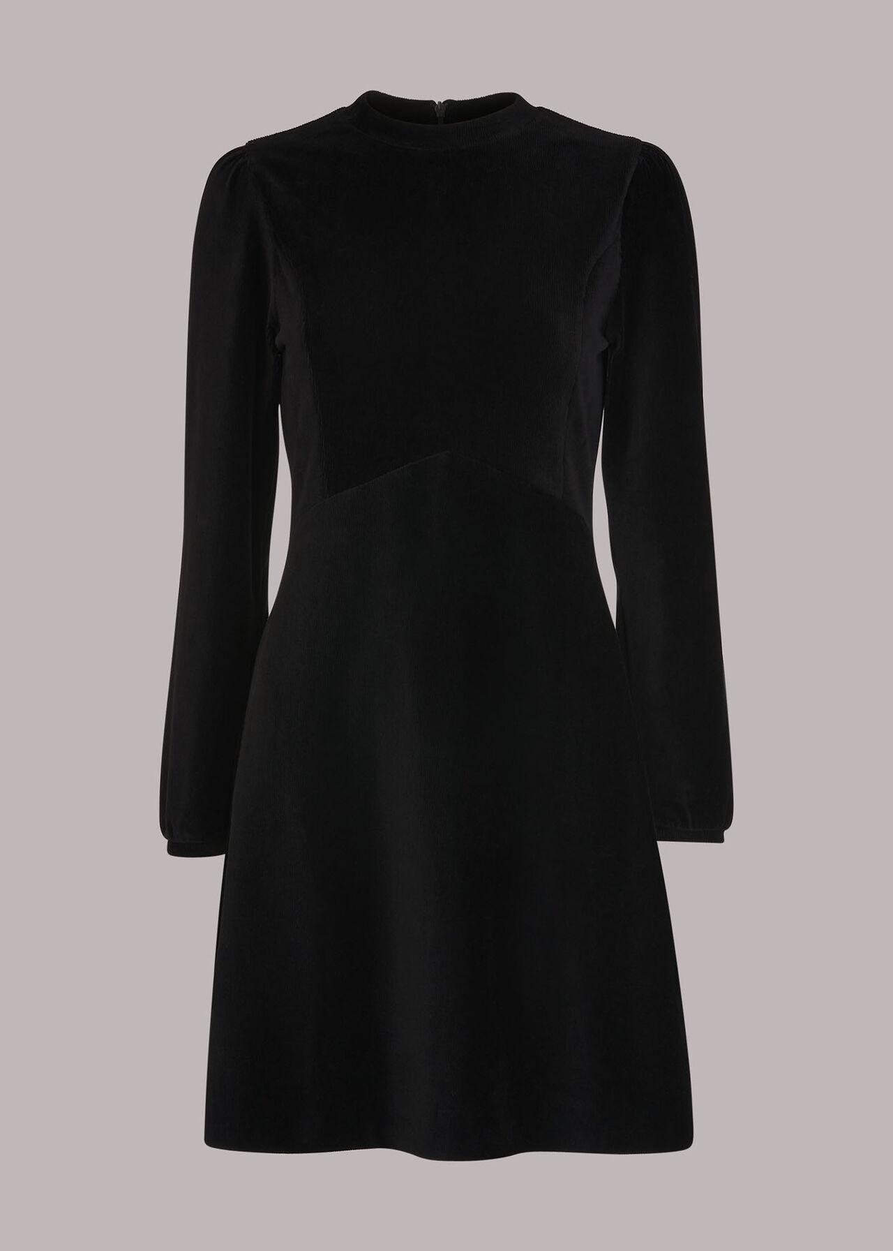 Cord Velvet Jersey Dress