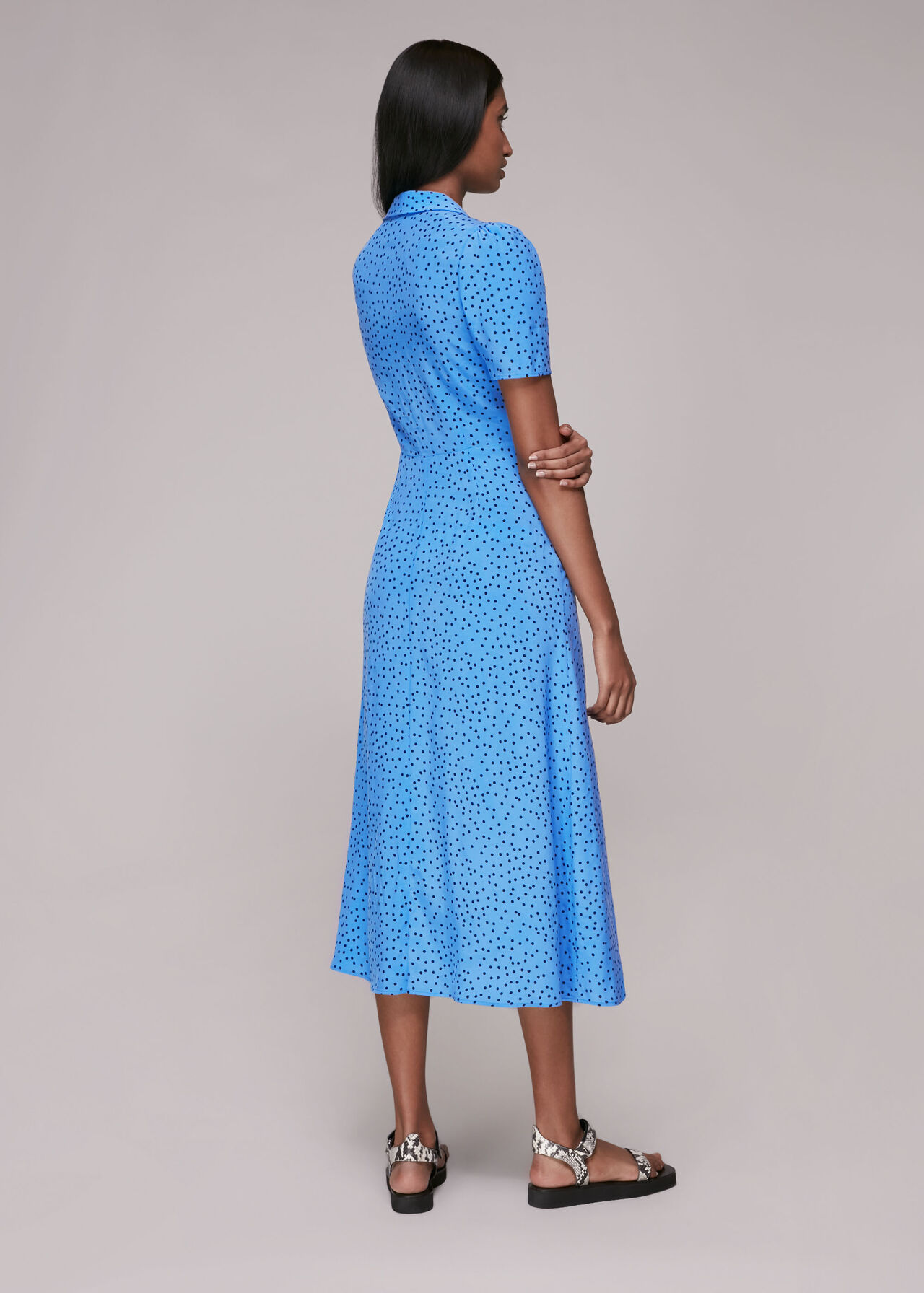 Rowan Irregular Spot Dress
