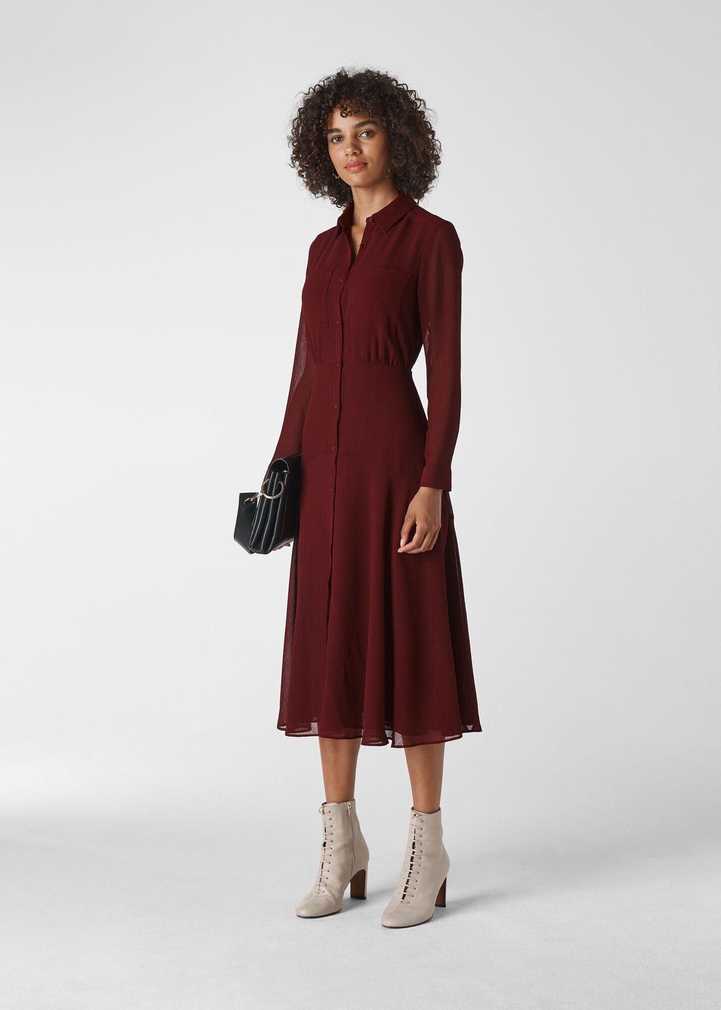 Carys Midi Shirt Dress
