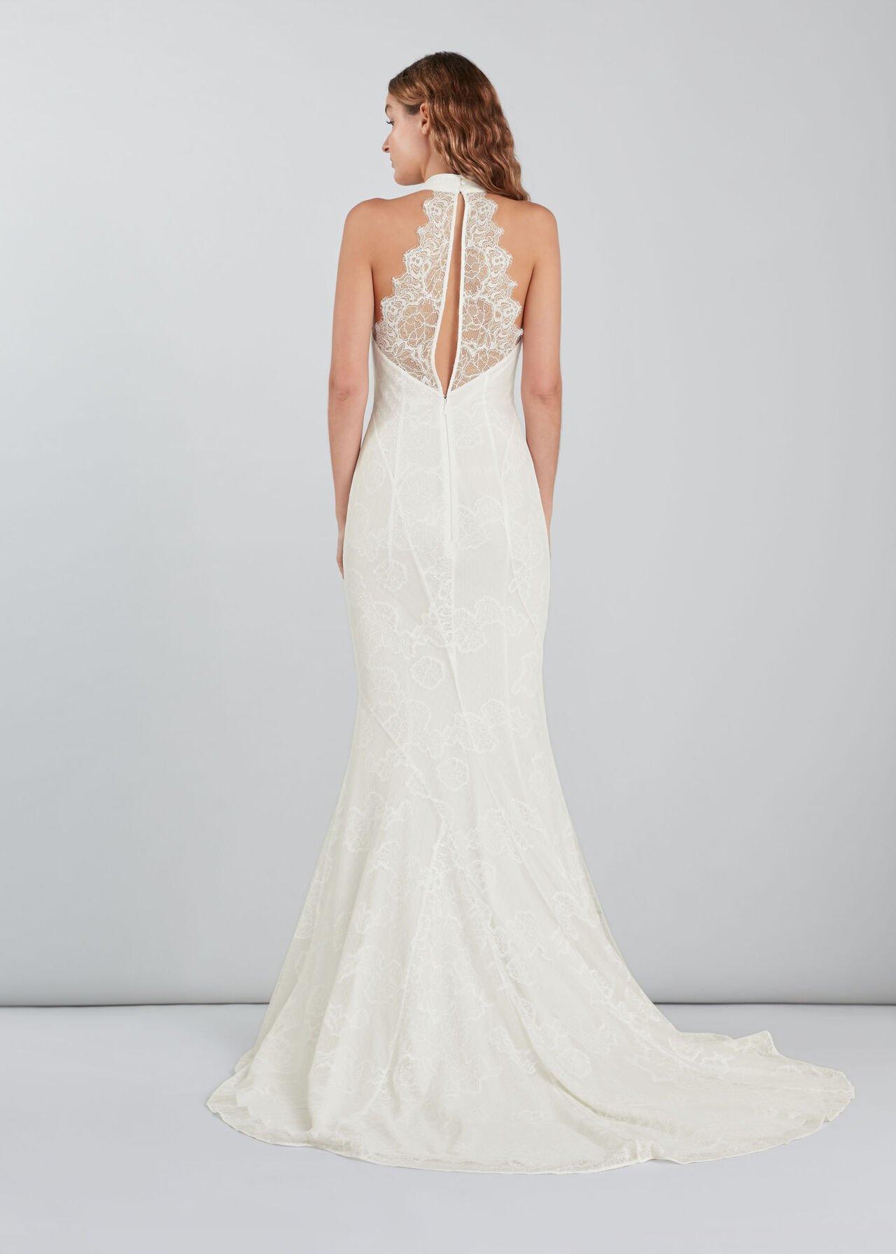 Maria Halter Wedding Dress Ivory