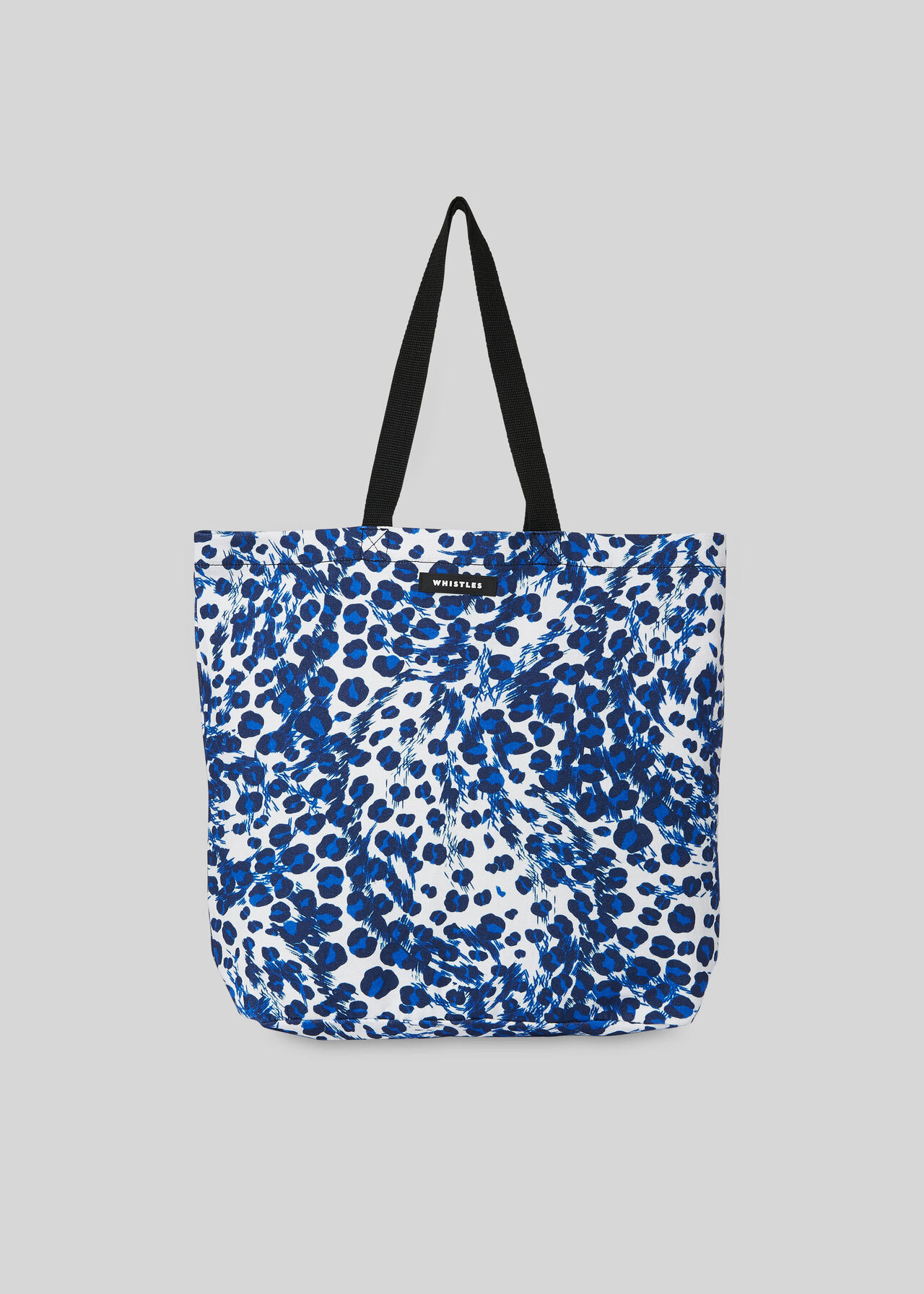 Blue Multi Ludlow Printed Tote