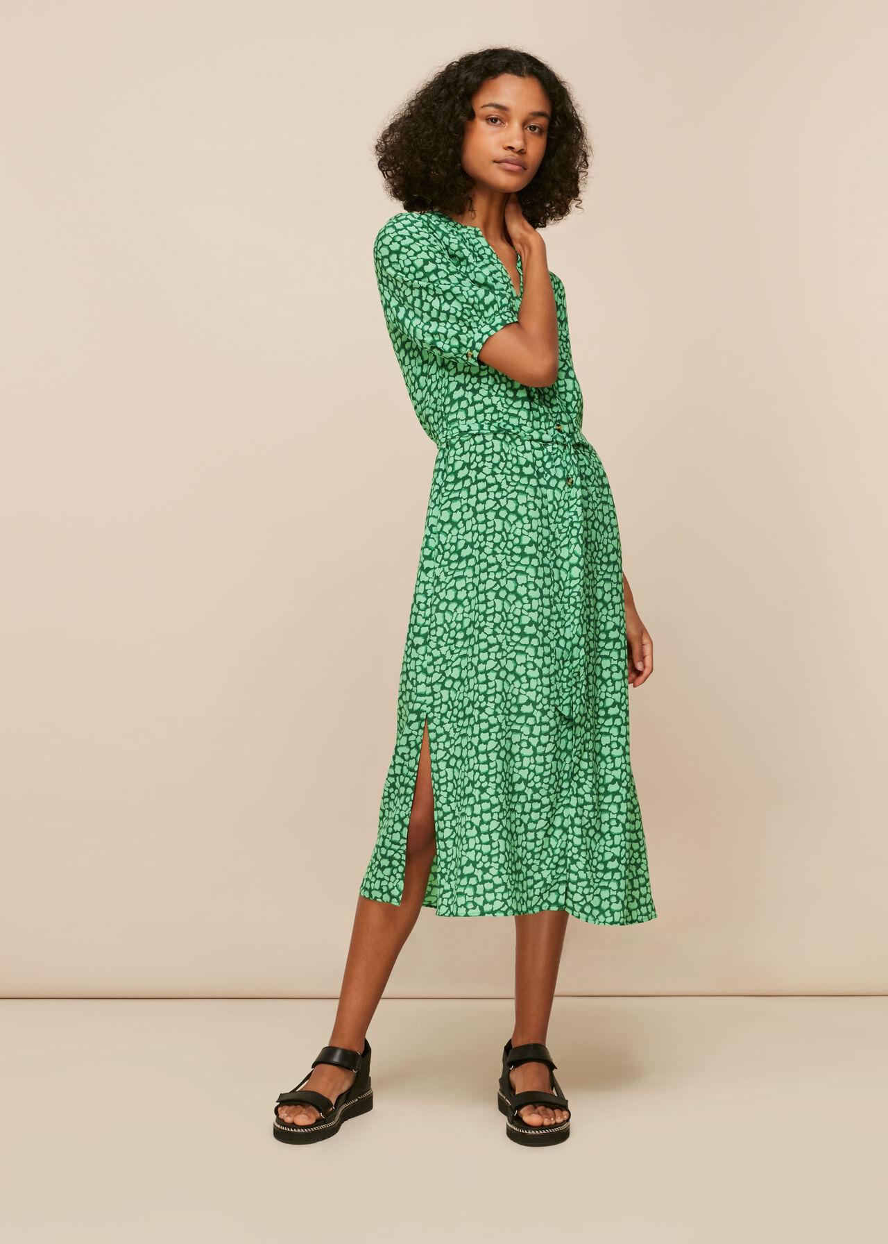 Olivia Giraffe Midi Dress