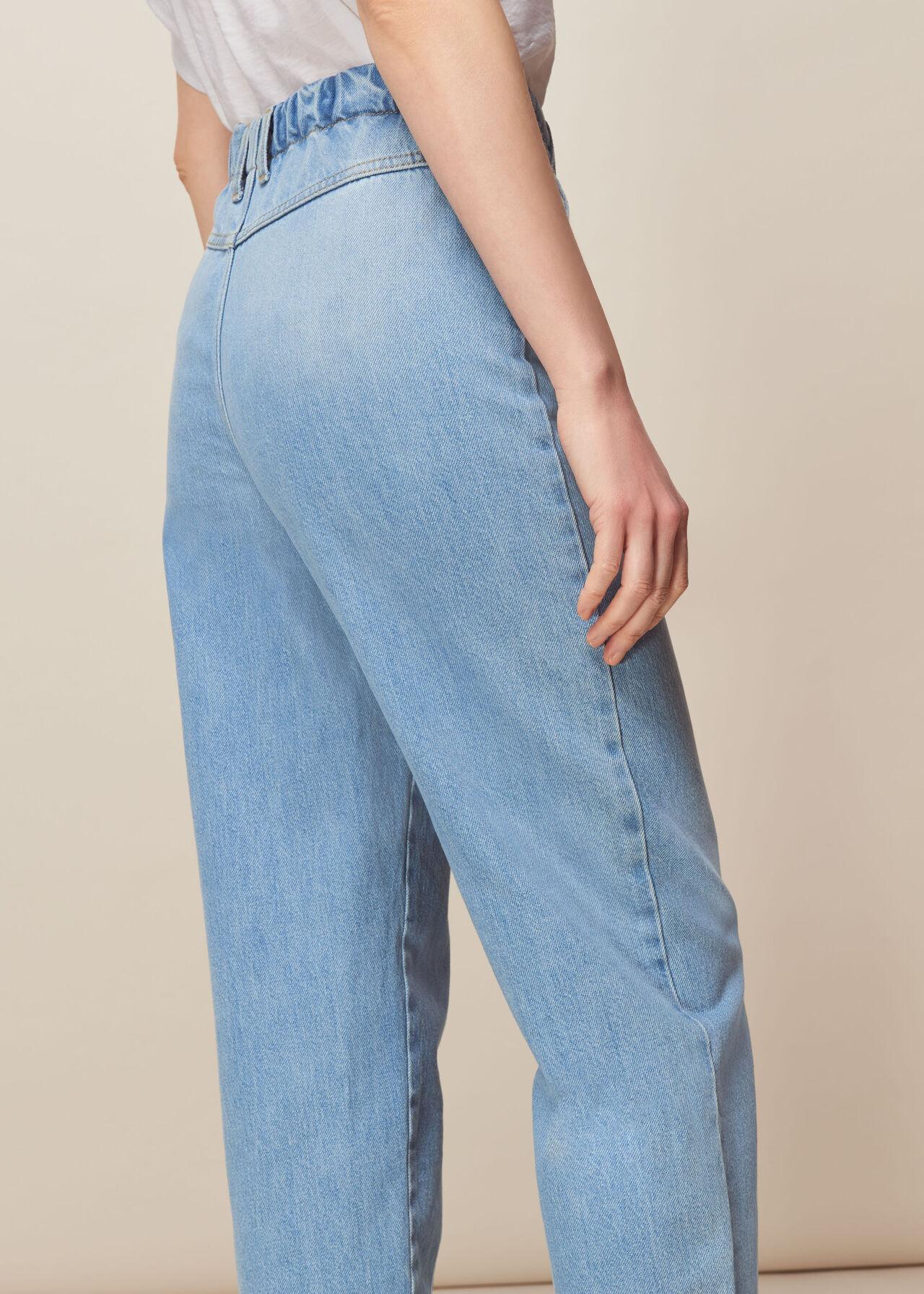 Elasticated Waist Soft Jean