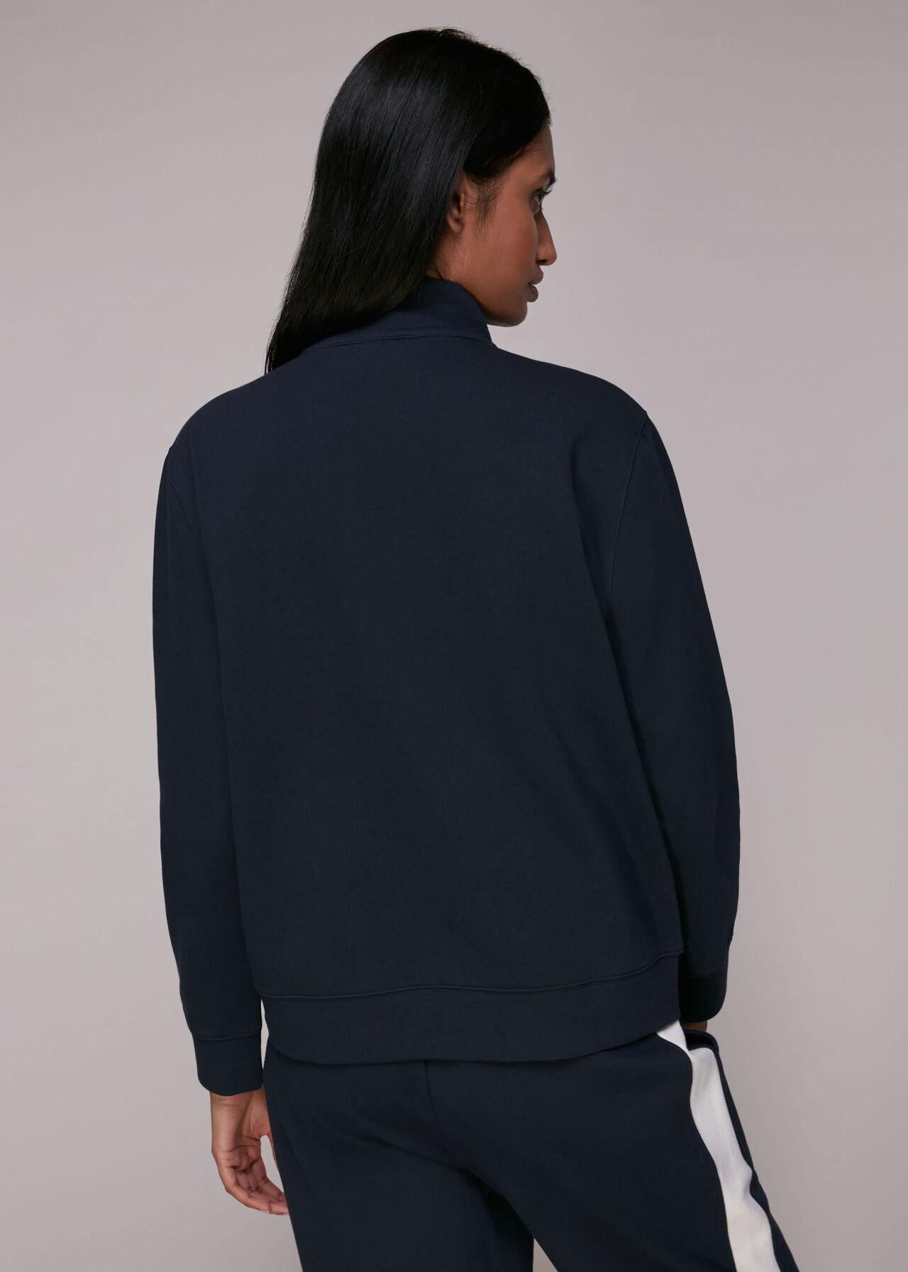 Zip Neck Sweatshirt