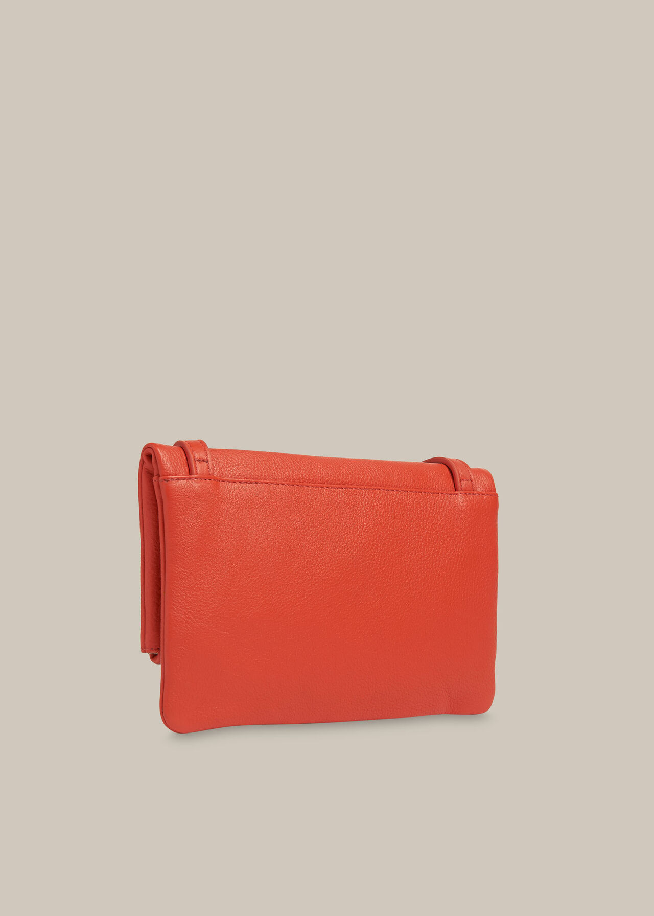 Issy Mini Foldover Bag Coral