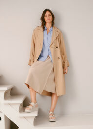 Riley Trench Coat