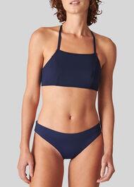 Pippa Minimal Bikini Bottom Navy
