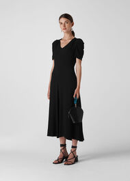 Jolanta Midi Dress Black