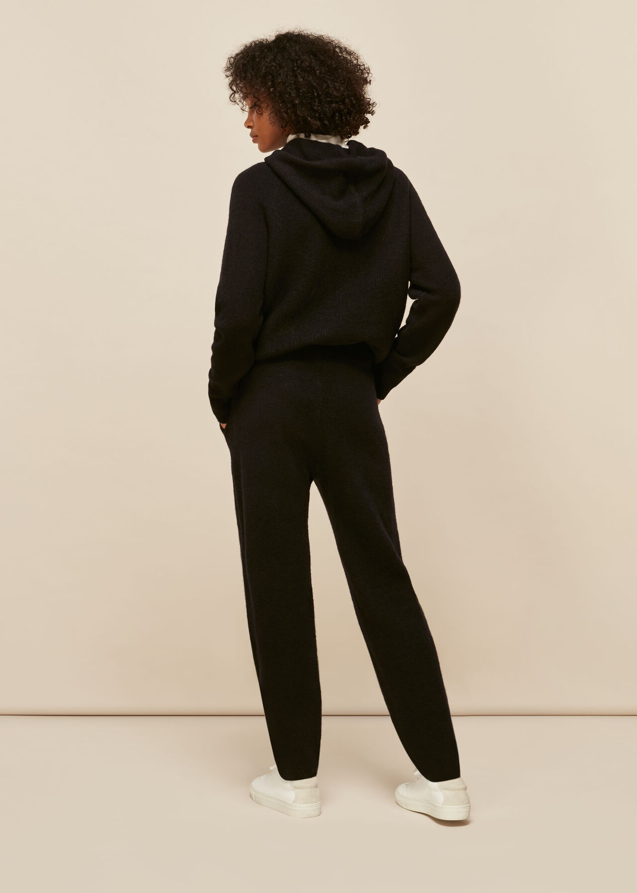 Ribbed Knitted Jogger