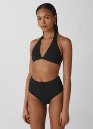 Klara Minimal Bikini Bottoms Black