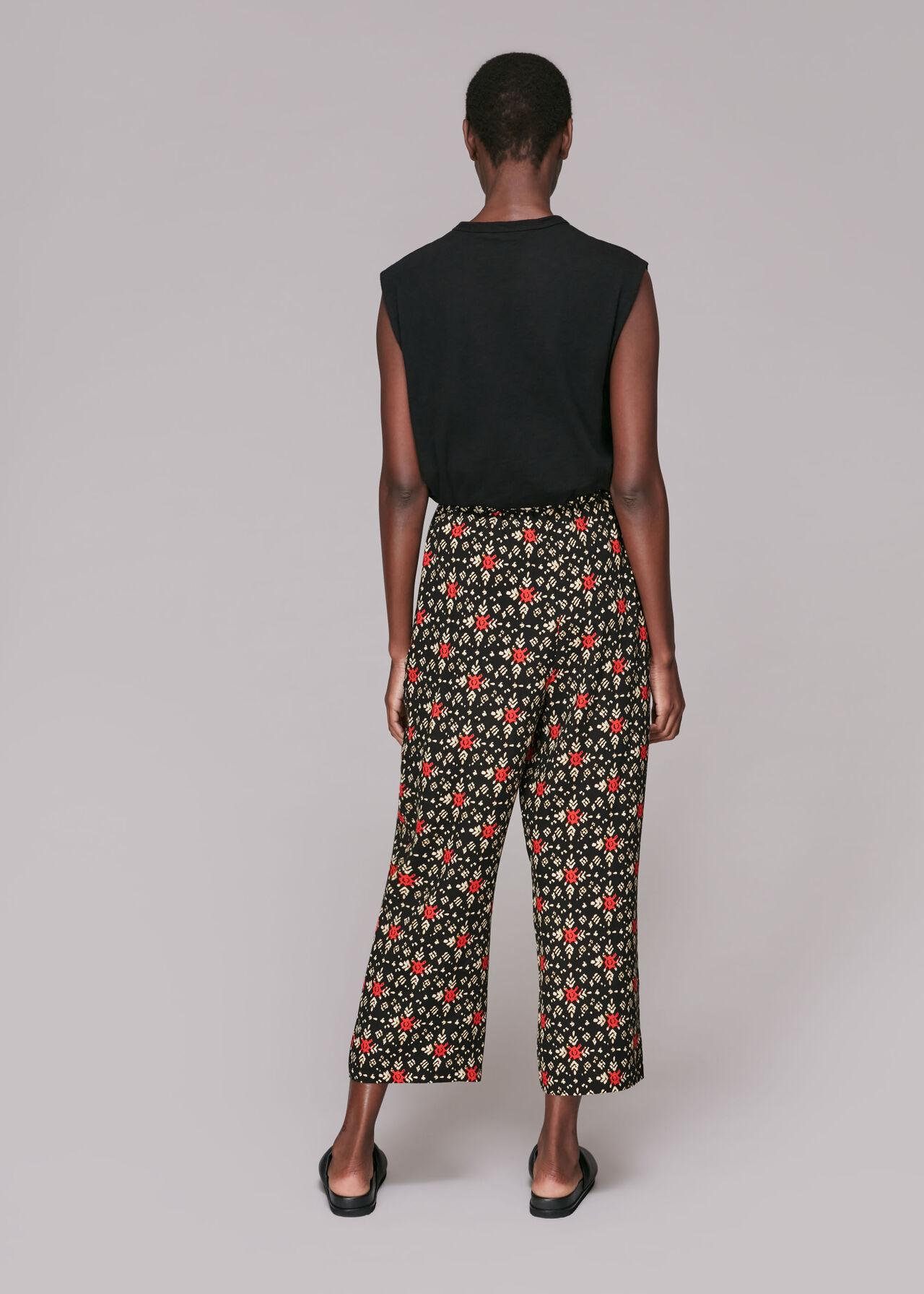 Block Print Trouser