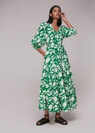 Marni Print Trapeze Dress