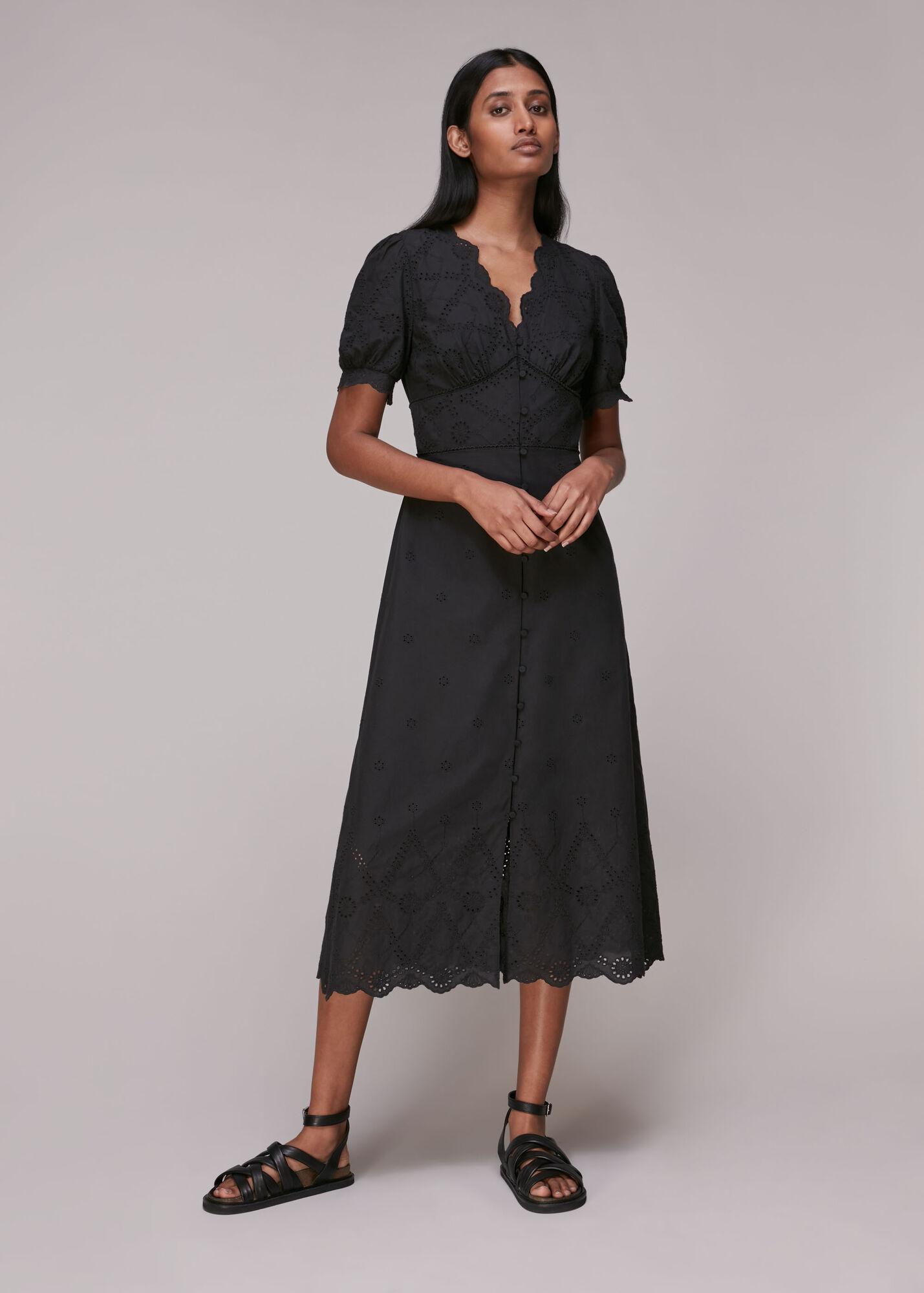 Carolyn Broderie Dress
