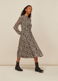 Brushmark Animal Print Dress