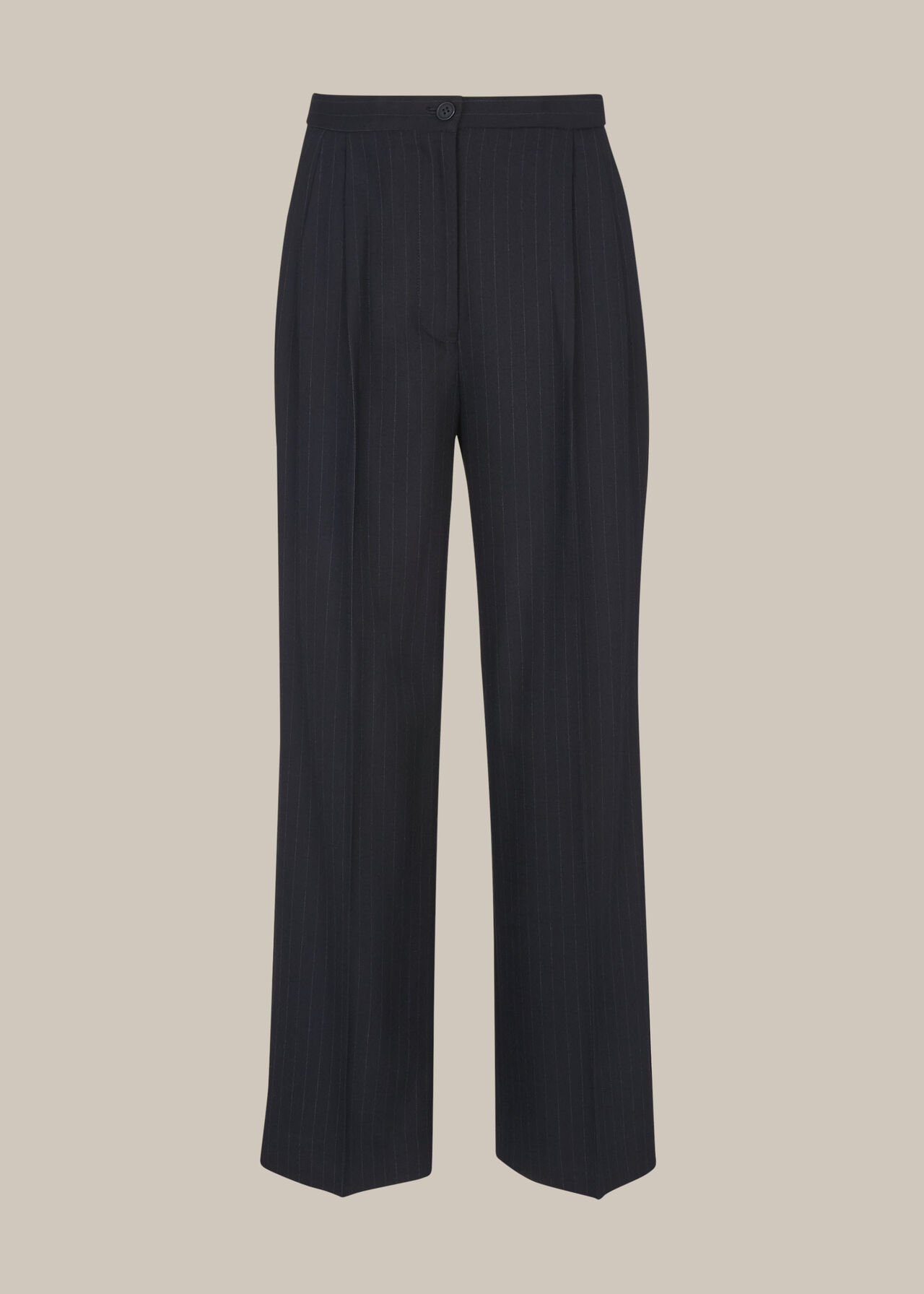 Pinstripe Full Length Trouser