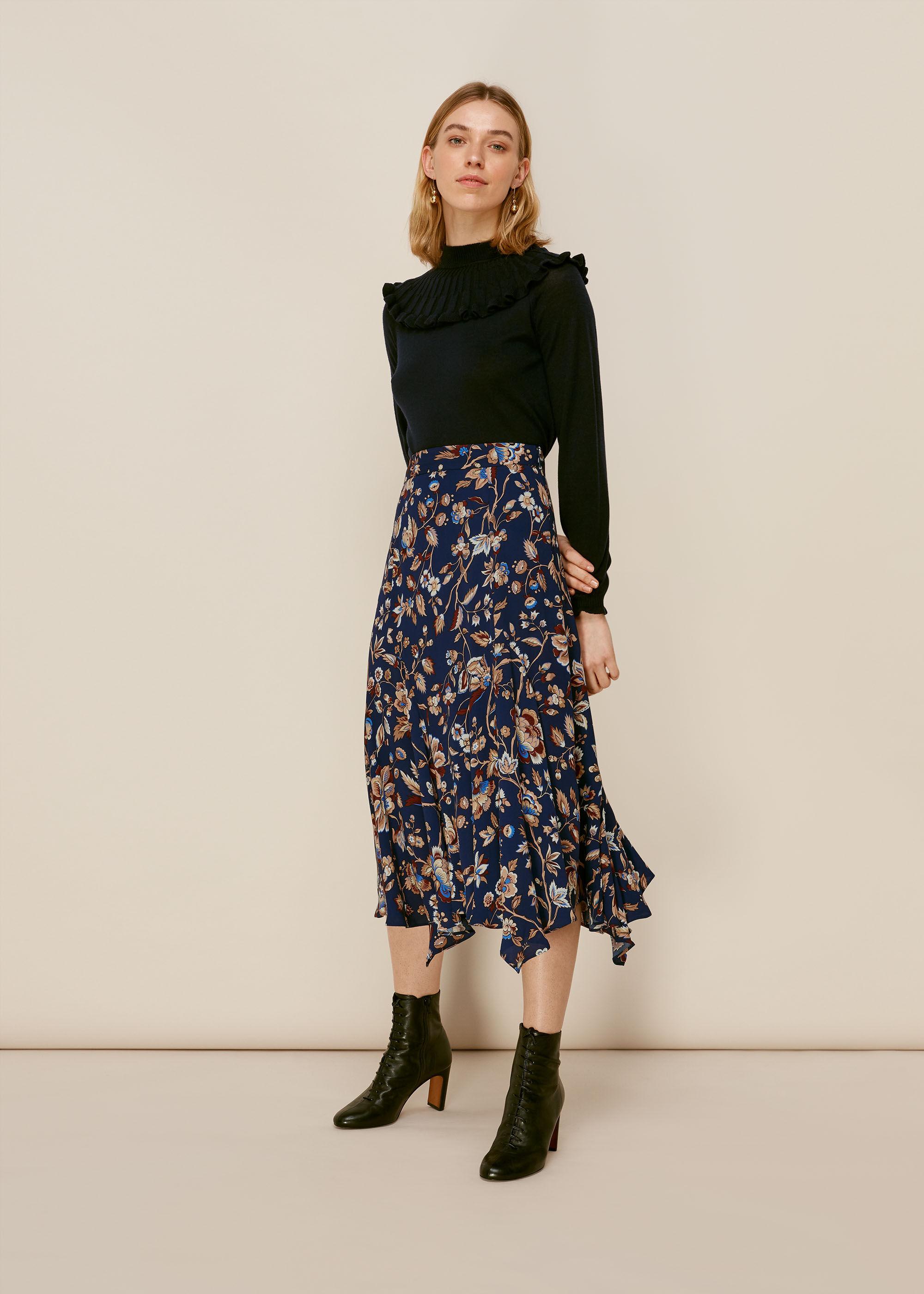 Whistles Women Prairie Blossom Print Skirt