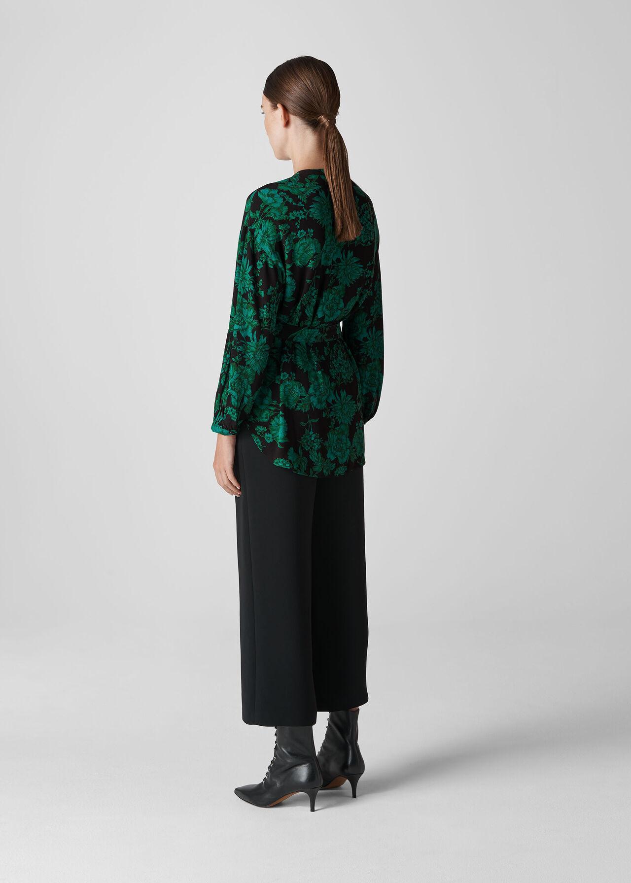 Tunic Top Green/Multi