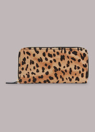 Leopard Long Purse