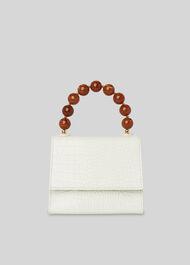 Albi Resin Handle Bag White