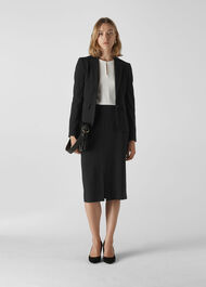 Anna Tailored Jacket Black