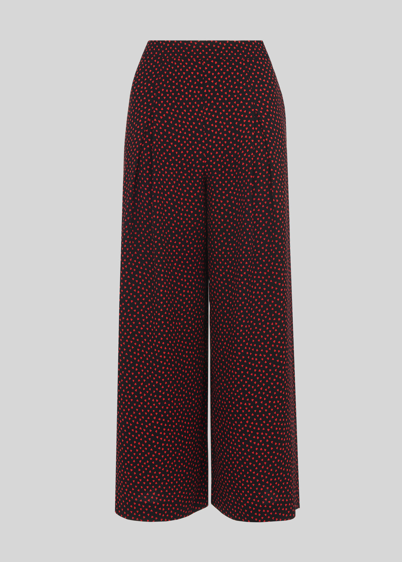 Mari Heart Wide Leg Trouser Multicolour