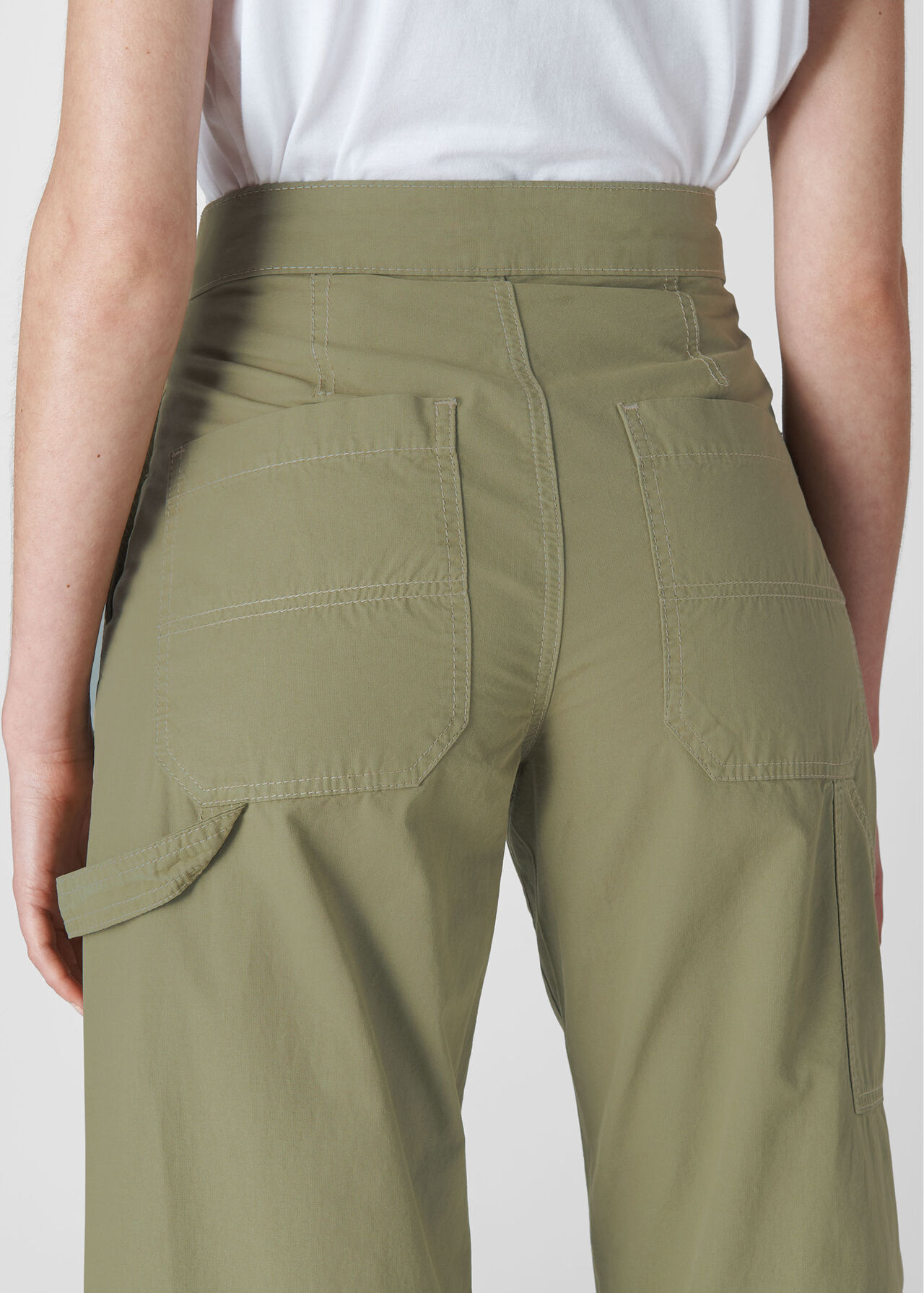 Cameron Casual Trouser Pale Green