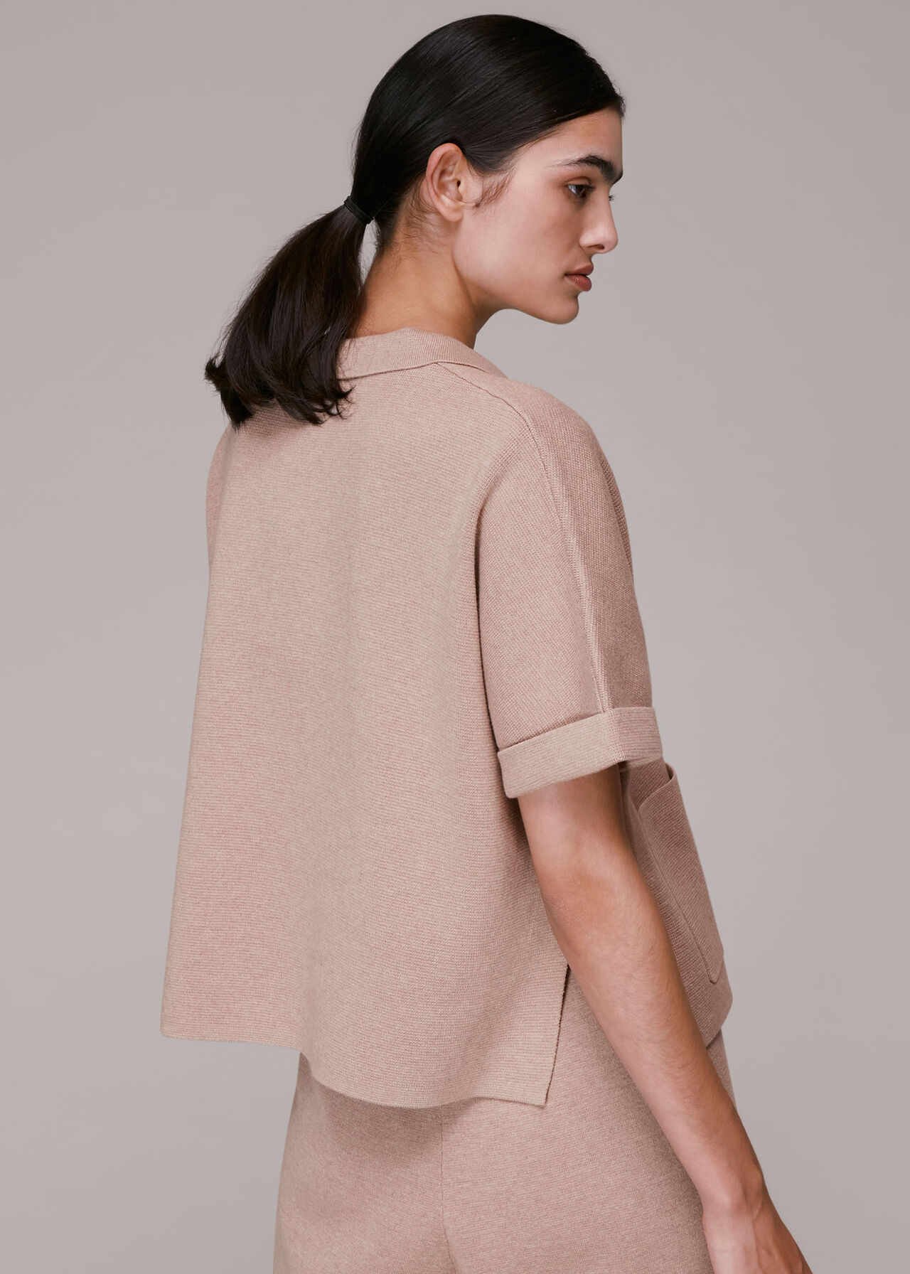 Boxy Knitted Top