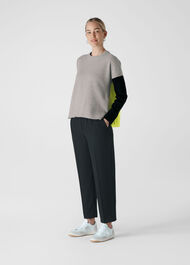 Colour Block Merino Knit