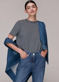 Emily Ultimate Stripe TShirt