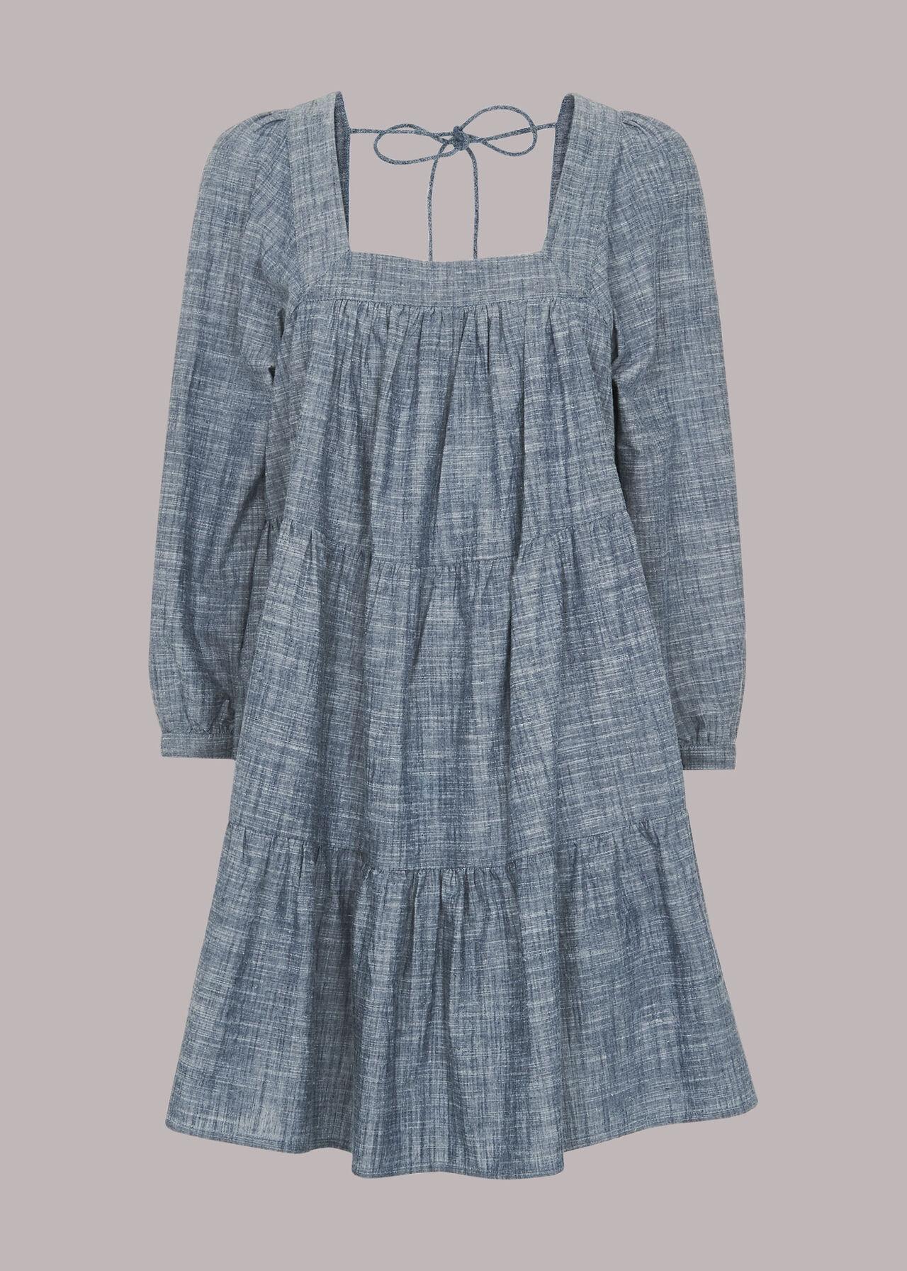 Tilly Chambray Trapeze Dress