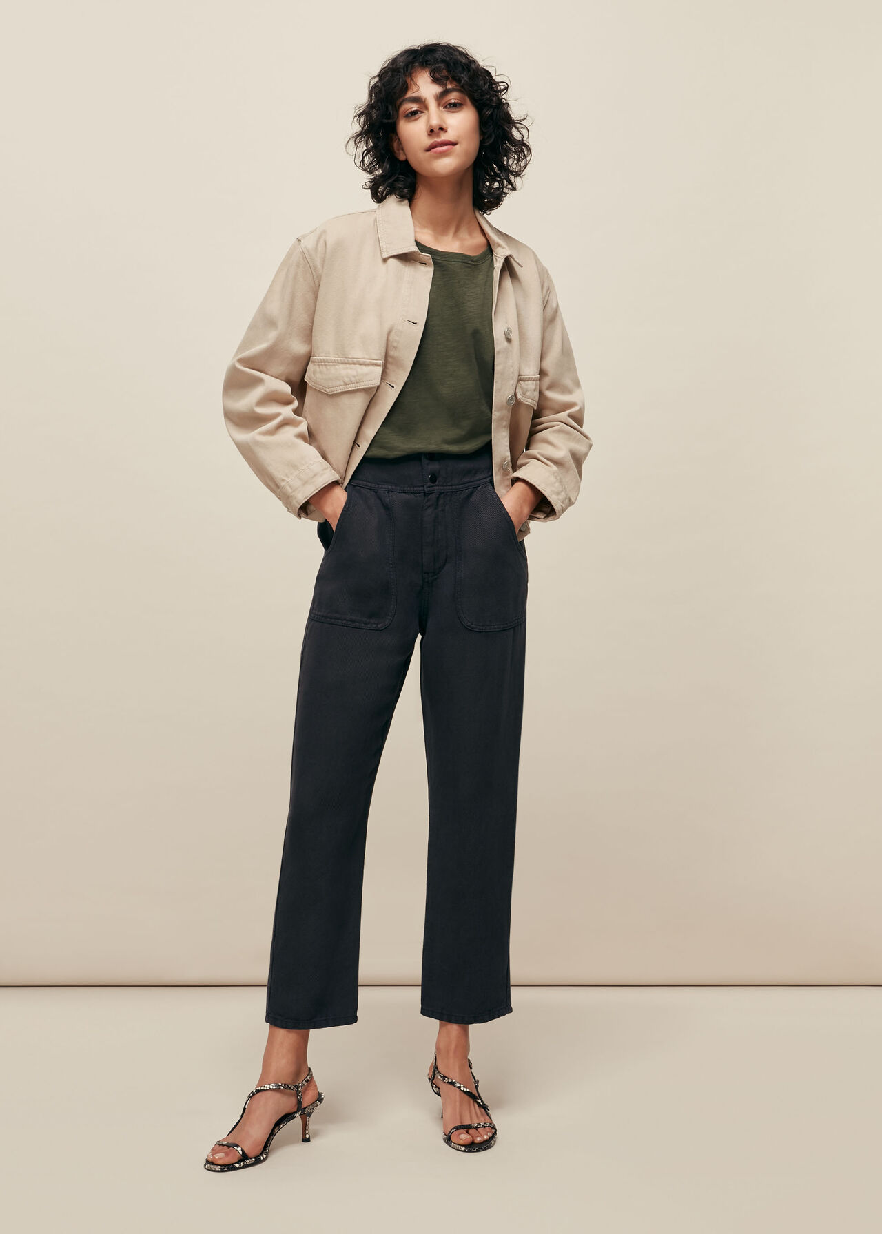 Tia Relaxed Trouser