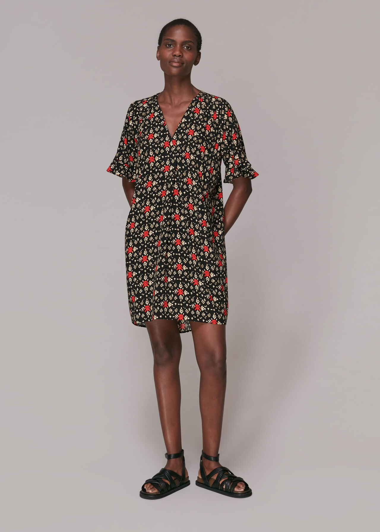 Block Print Alba Dress