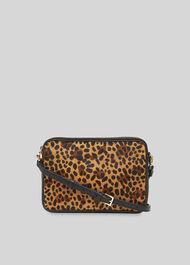 Cami Crossbody Bag Leopard Print