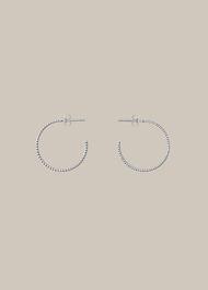 Engraved Hoop Earring