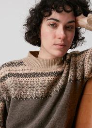 Fairisle Crew Neck Sweater