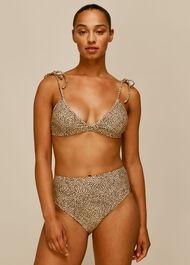 Mini Leopard Bikini Bottom Leopard Print