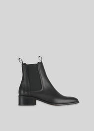 Fernbrook Leather Chelsea Boot Black