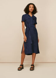 Easy Linen Shirt Dress