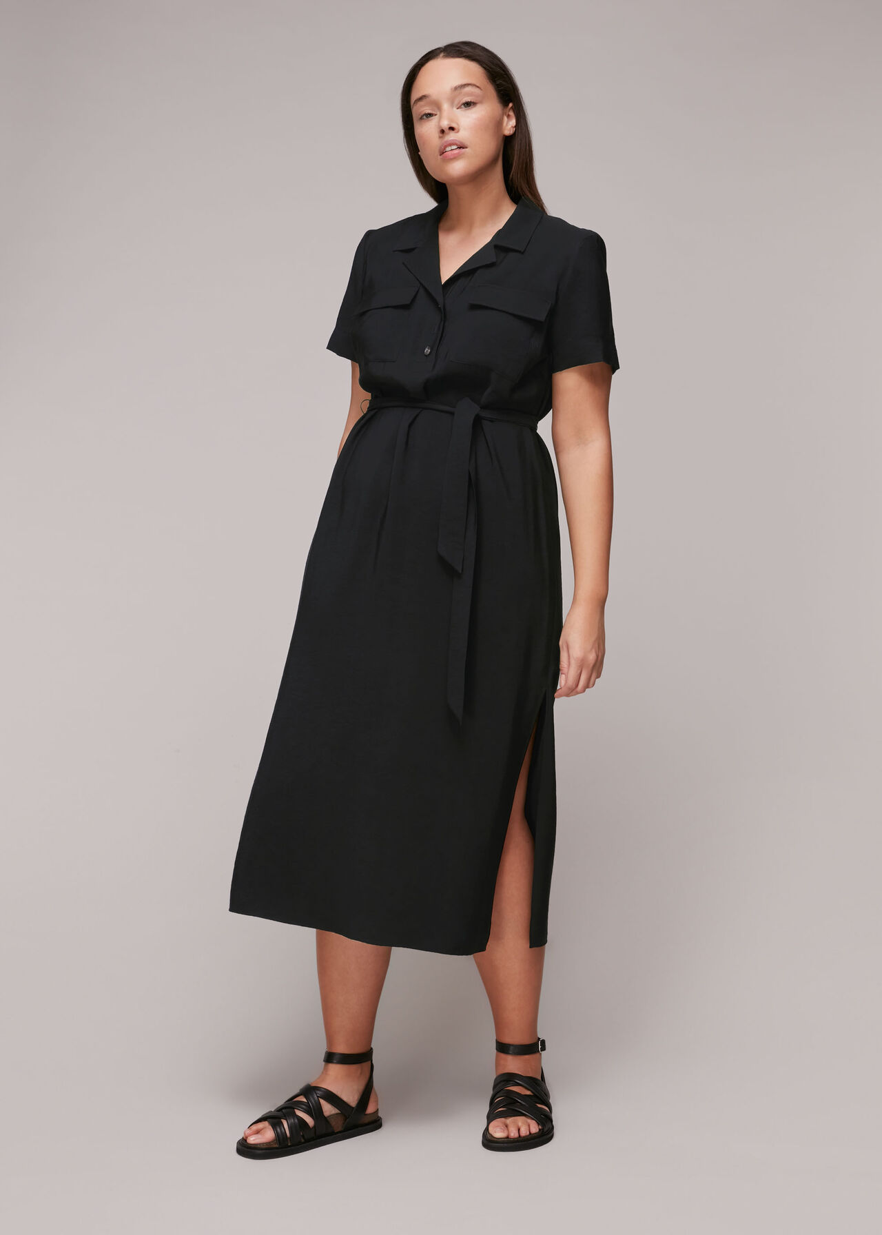 Easy Casual Shirt Dress