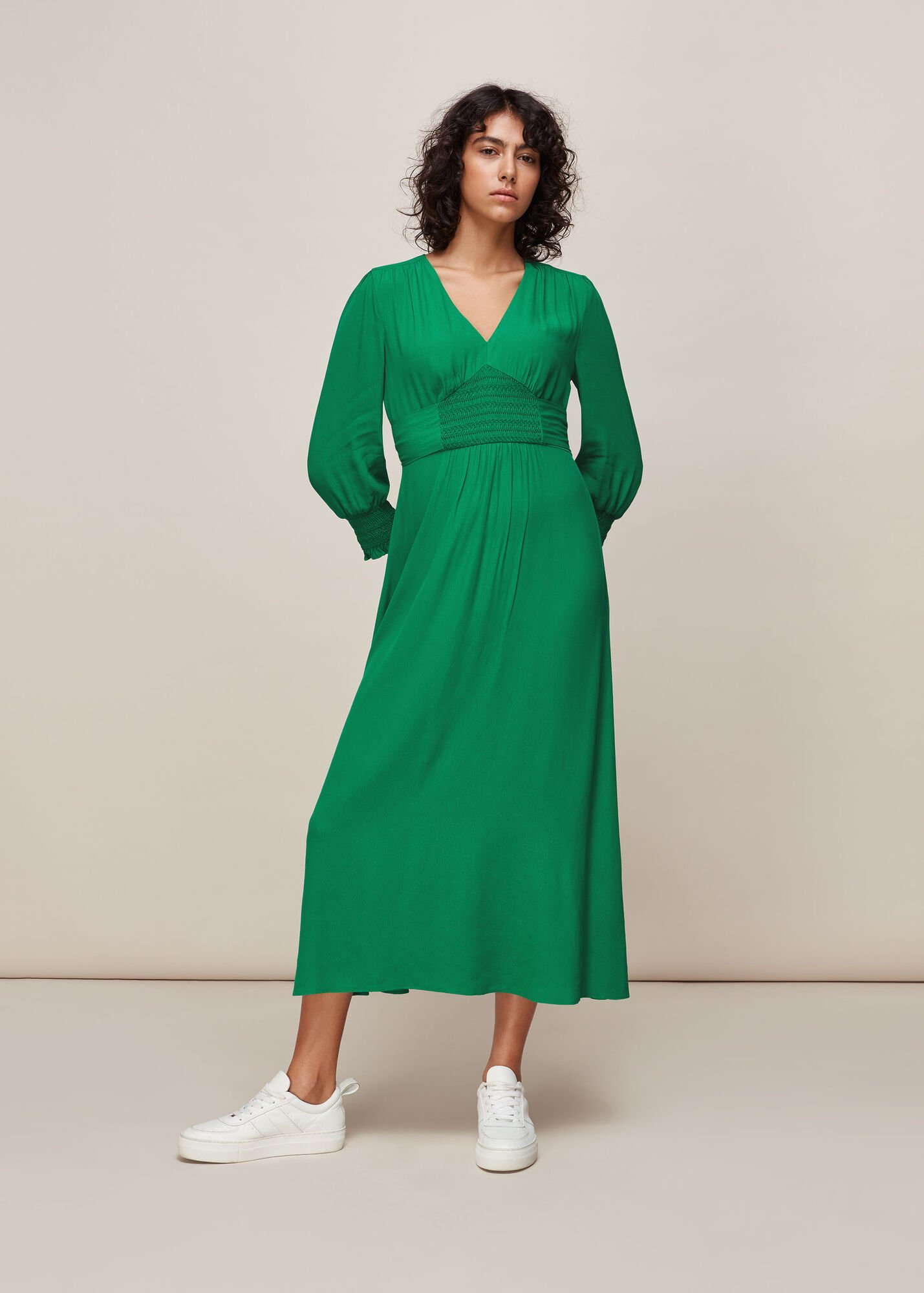 Zenna Shirred Waist Dress