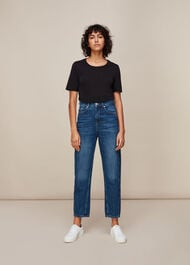 Authentic Barrel Leg Jean